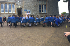 RE Q and A session outside school